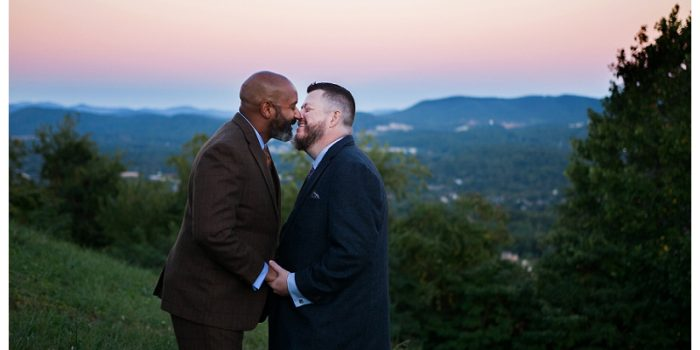 Doug + Will // Valhalla Vineyard Wedding